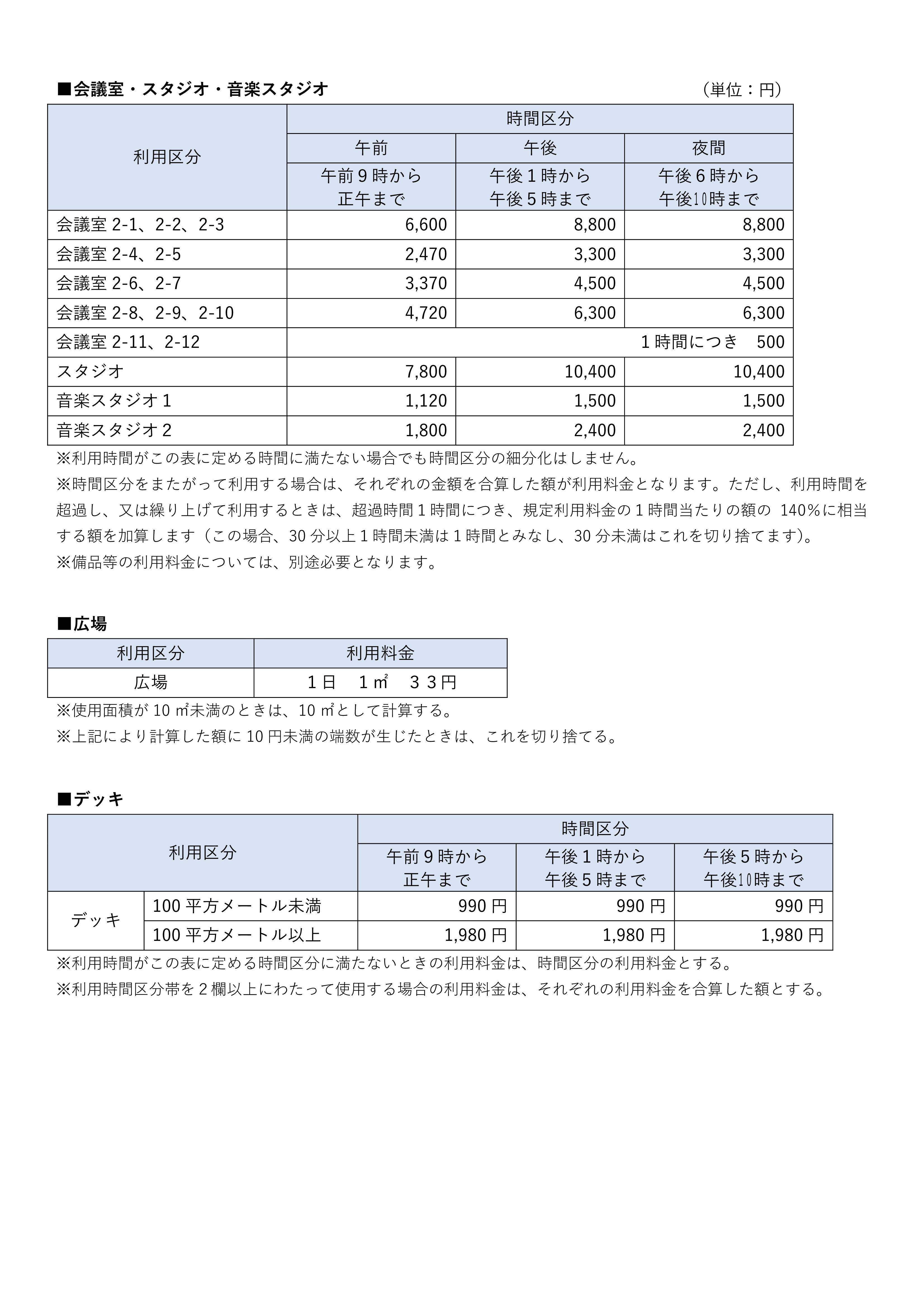 施設利用料金-02
